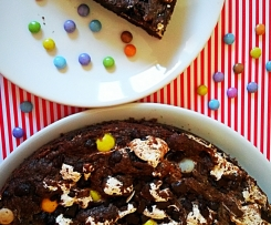 Giant Double Chocolate Cookie mit Marshmellowfluff