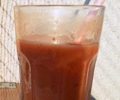 Mango-Johannisbeer-Minz-Limonade