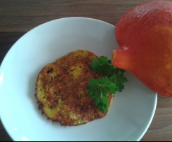 Kürbispuffer mit Kartoffel und Zucchini