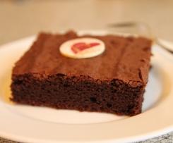 Der weltbeste Schokoladen-Blechkuchen