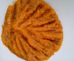Möhren-Zucchini-Aufstrich