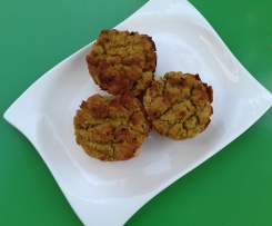 Erbsenmuffins (low carb)