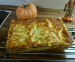 Kürbis-Hack-Lasagne