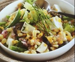 Gemüse-Dinkel-Salat
