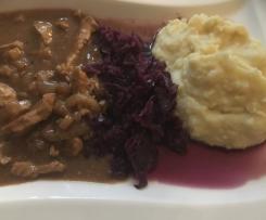 Sellerie-Kartoffel- Stampf