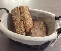 Buchweizen-Chia-Brot
