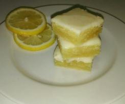 Lemonies-zitronig fruchtige lemon brownies