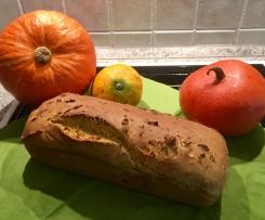Süßes Kürbisbrot (Stuten) Laktose-Fruktose-frei
