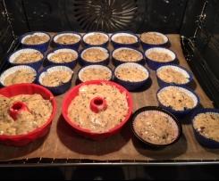 Schoko- Nuss-Kuchen/ Muffins