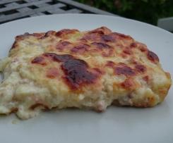 Zwiebelkuchen - Quiche Lorraine