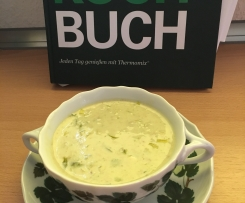 Lauch Käse Cremesuppe