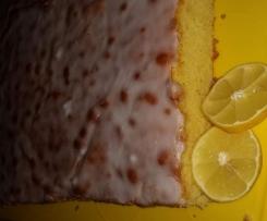 Variation von Zitronenkuchen