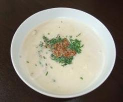 Blumenkohl-Suppe (Kokos/Sesam)