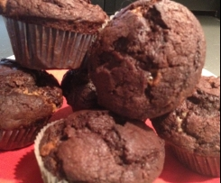 Schokoladen Muffins, die schokoladigsten die es gibt!