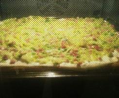 Flammkuchen mal anders - Grüner Ploatz