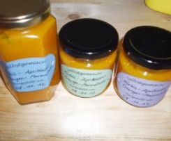 Kürbis-Aprikosen-Orangen-Marmelade