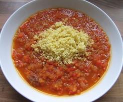 Tomaten-Gewürzsuppe