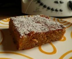 Apple Carrot Cake (saftiger Blechkuchen)