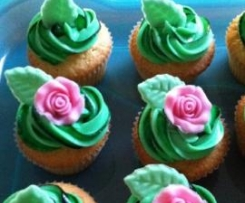 Zitronencupcakes mit Frischkäse - Topping