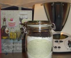 Backmischung zum Verschenken - Mohnkuchen