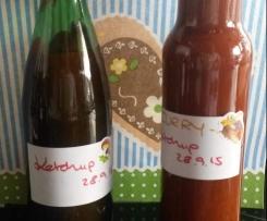 Tomaten-Ketchup - einfach & lecker - auch als Curry-Ketchup