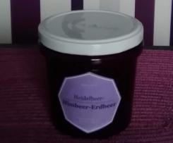 Heidelbeer-Himbeer-Erdbee Marmelade