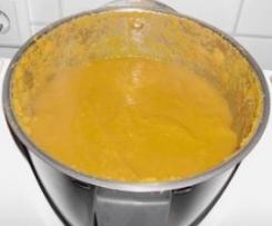 Karotten-Ingwer Suppe (vegan/vegetarisch)