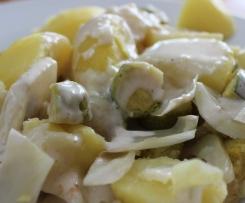 Rosenkohl italienisch mit Kartoffeln & Parmesansauce